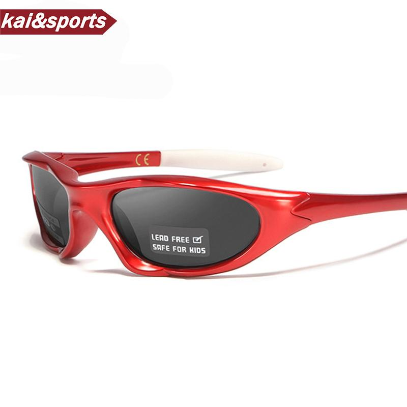 Fashion Polarized Riding Glasses for children Sport Sunglasses Outdoor goggles Polarizing windproof eyewear bicycle