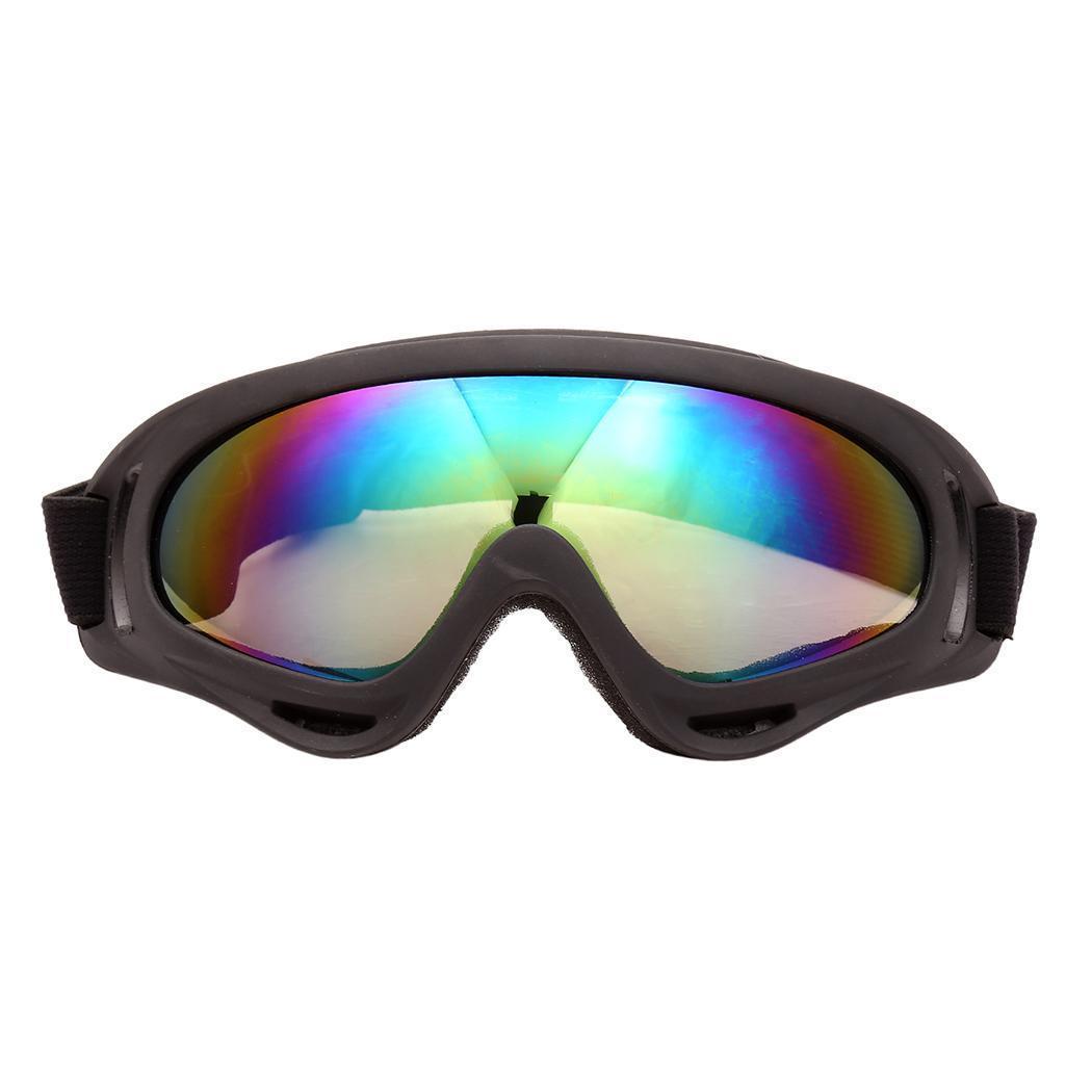 Compre Lentes De Espelho Unissexo Proteção Da Estrutura Da Resina Tingida  Externa 1 Aprox. Forma Circular Dos Óculos De Proteção Do Esqui De 4cm    1.6inch ... 520aa2cc97