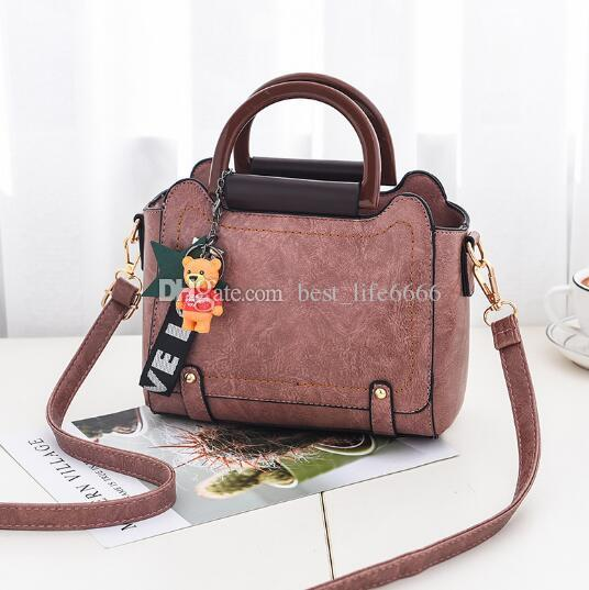 6f2301369bd2 Hot New Fashion Large Capacity Handbag Simple Women'S Single Shoulder Bag  Slanting Straddle Women'S Bag Delicate Personality Elegant Side Bags Handbag  ...