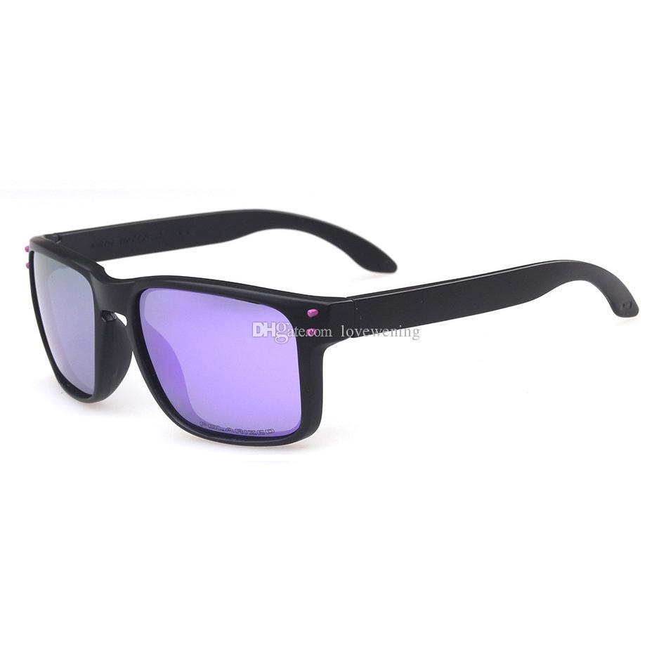 Compre Marca De Moda 0 Série De Luxo Óculos De Sol Para Homens Preto Quadro  Roxo Logotipo Polarized Violet Iridium Lente PO9244 Com Assinatura Frete  Grátis ... 3ba96bbe99