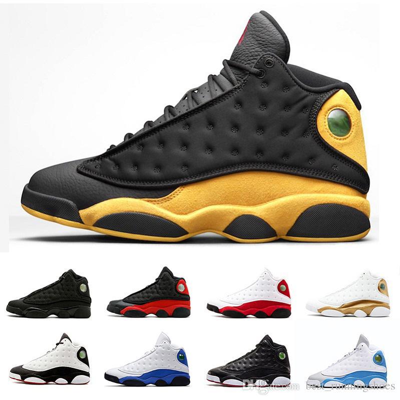 premium selection 94edd 72a97 Acheter 2018 Melo Air Jordan 13 Classe De 2002, Chaussures De Basket Ball  Pour Hommes, Il A Eu Le Jeu Phantom, Italie, Bleu, Olive, DMP, Race, Rétro,  ...