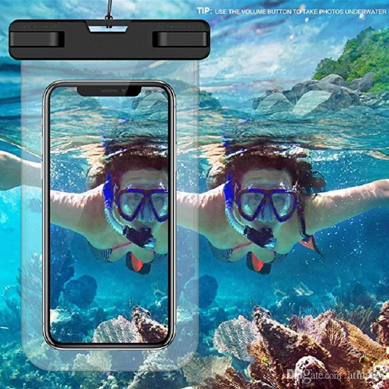 Waterproof Phone Pouch Cellphone Dry Bag Cellphone Dry Bag Case for Samsung  Galaxy S10 Nokia iPhone Xs Max XR XS