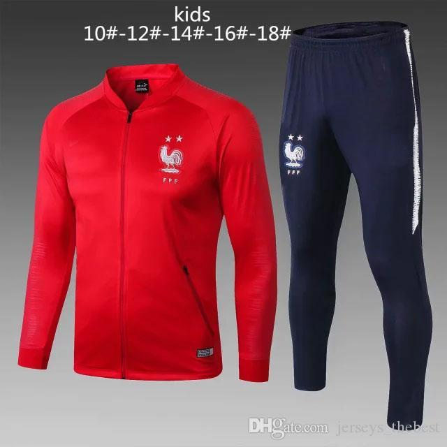40083d510 2018 2019 Kids World Cup Champions Tracksuit 2 Stars Two Home ...
