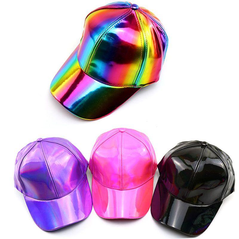 d9c0366134c1f 2019 Kids Cap Rainbow Leather Snapback Hiphop Pu Baseball Caps For Children  Flat Anime Mesh Hat Boy Girls Hats Black Cap 50 To 54cm Visors Millinery  From ...