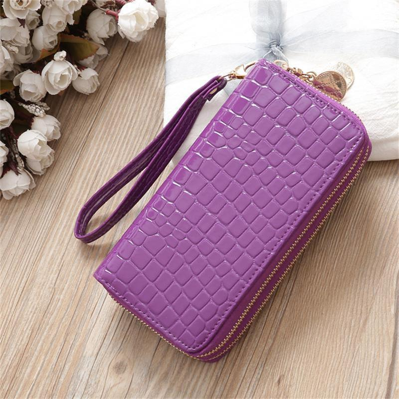 67b5f5817 Mcneely Lovely Women Alligator Long Wallet Girls Wallet Female ...