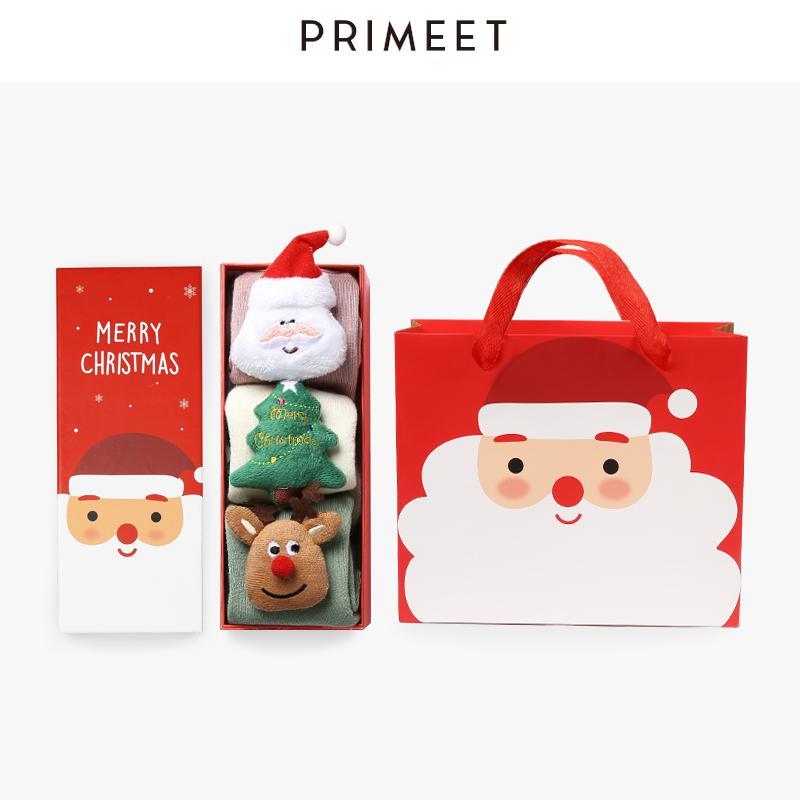 Grosshandel Grosshandel Frauen Weihnachten Socken Koreanische Kawaii
