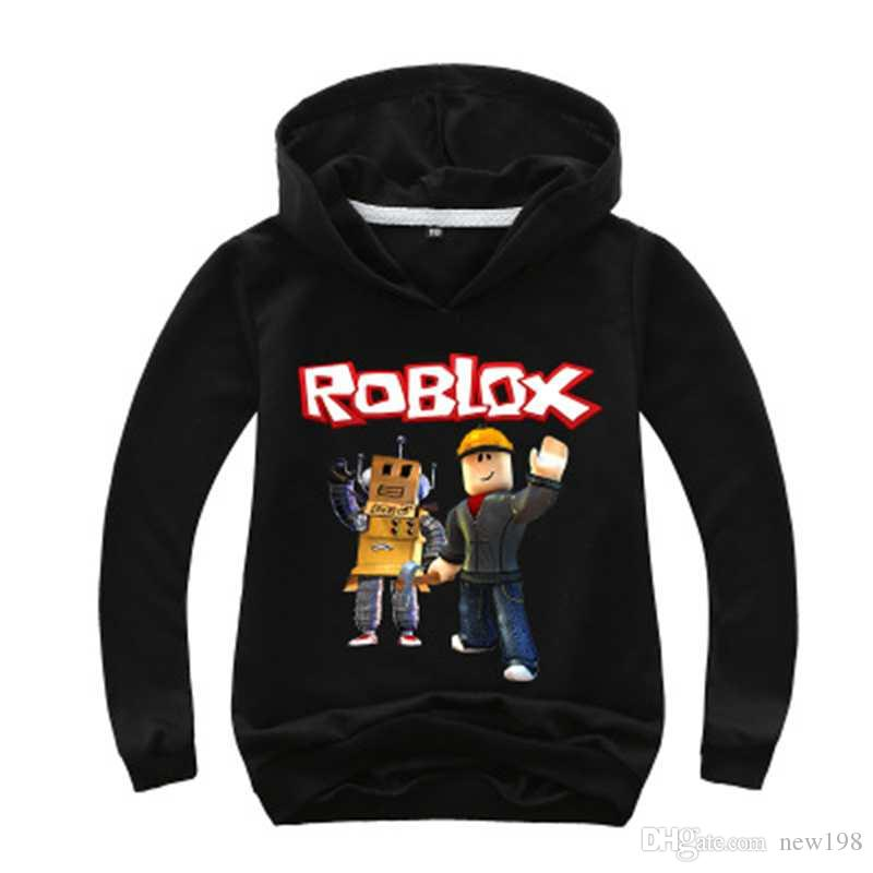 2 14y Kids Hoodies Roblox Hoodie Boys Sweatshirt Long Sleeve Girls Jacket Outwear Costumes Clothes Children Casual Jumpers - cute girl jackets code for roblox