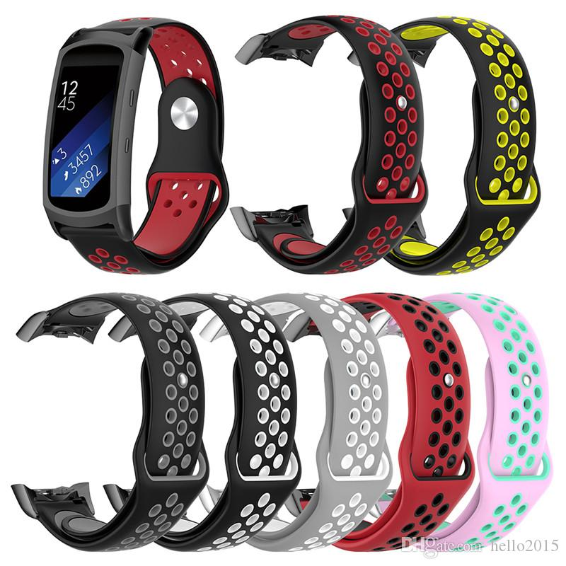 Replacement Wristband For Samsung Gear Fit 2 Pro Band Luxury Silicone Watchband For Samsung Fit 2 SM-R360 Strap