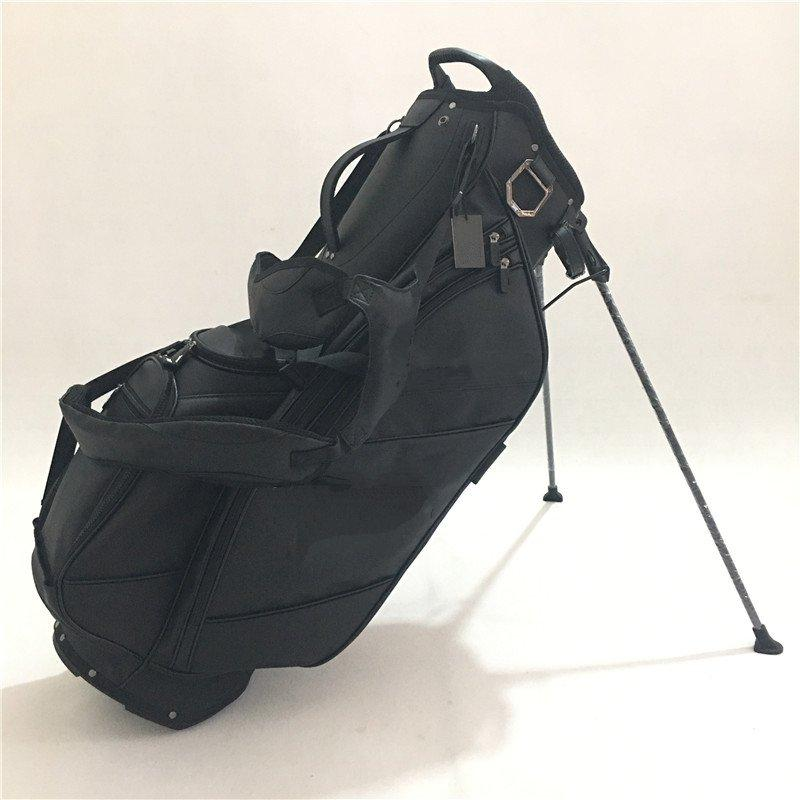 Golf Bag Staff Black White Golf Rack Bag Professional Ball Light Driver  Fairway wood Hybrid Wedge Irons Putter TS2 TS3 M3 M4