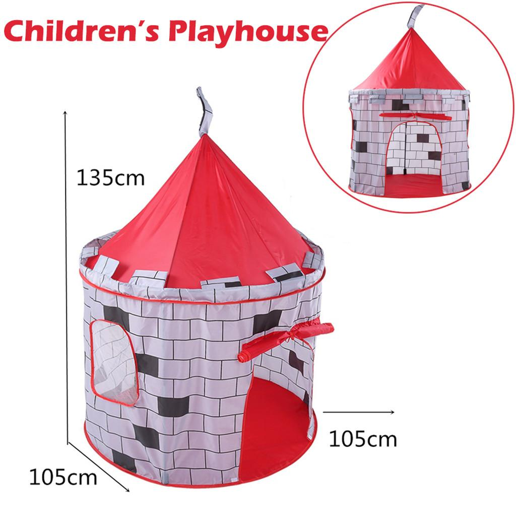 Folding Children Kids Pretend Play Knight Castle Tent In/Outdoor Funny Gadgets Children Educational Toys House Boys Girls Inside Tent For Kids Small Kids ...  sc 1 st  DHgate & Folding Children Kids Pretend Play Knight Castle Tent In/Outdoor ...