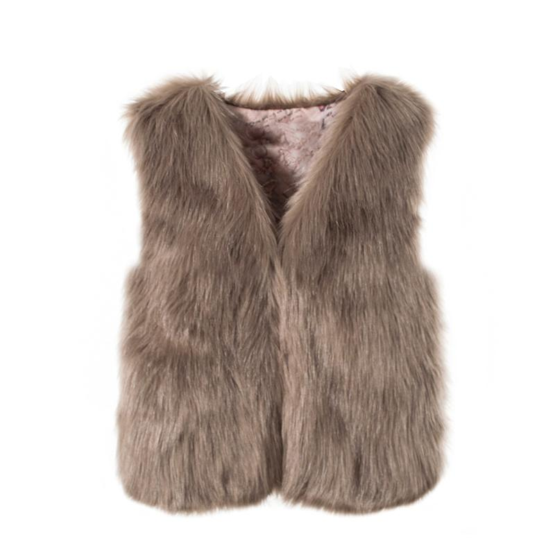 ZADORIN Autumn Winter Fashion Waistcoat Women Faux Fur Vest Pink White Short Faux fur Coat Women Gilet Fourrure veste femme