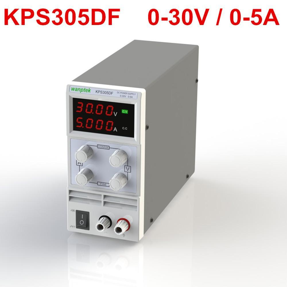 Mini ayarlanabilir DC güç kaynağı 110 V / 220 V regüle çıkış voltajı 0 ~ 30 V çıkış akımı 0 ~ 5A regülatörü AB / ABD plug