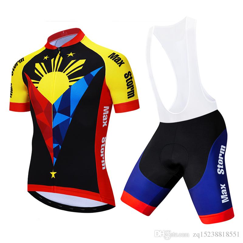 2019 New Team Philippines Cycling Jersey Cycling Sets Customized Road  Mountain Race Top Max Storm Reflective Zipper 4 Pocket Bicycles For Sale  Bicycle ... 9cb8f9c95