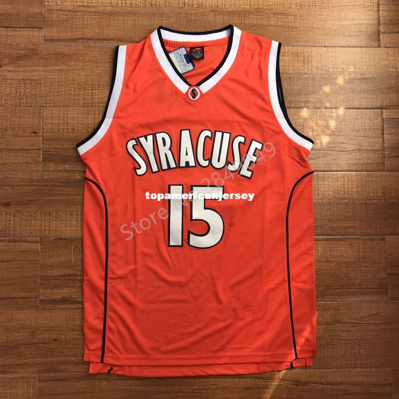 44a57055173 2019 Carmelo Anthony #15 Syracuse Orangemen College Men Basketball Jersey  Stiched XS 6XL Vest Jerseys NCAA From Topamericanjersey, $17.48 | DHgate.Com