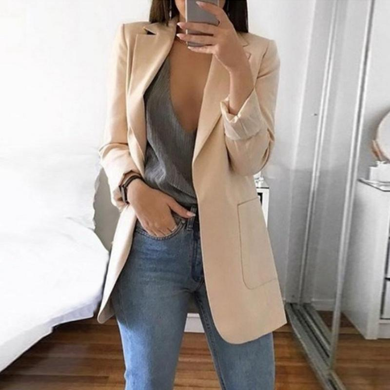 ca7489a0a19 2019 NIBESSER 2019 Spring Fashion Blazer Jacket Women Suit European ...