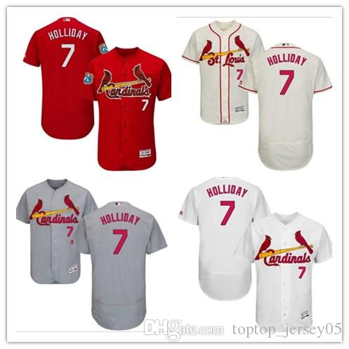 2018 St. Louis Cardinals Jerseys  7 Matt Holliday Jerseys  Men WOMEN YOUTH Men S Baseball Jersey Majestic Stitched Professional  Sportswear UK 2019 From ... b7c37ec86