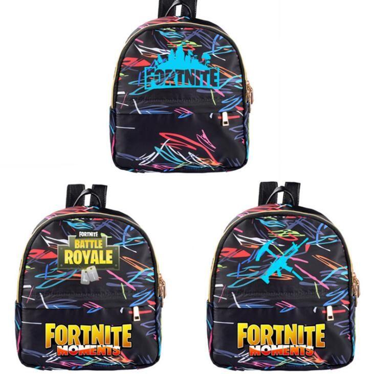 8e7307c1df8f Fortnite Backpack School Student Shoulder Bags Canva School Bag Large  Capacity Knapsack Cartoon Storage Handbags CCA10853 Fortnite Backpack  Fortnite ...