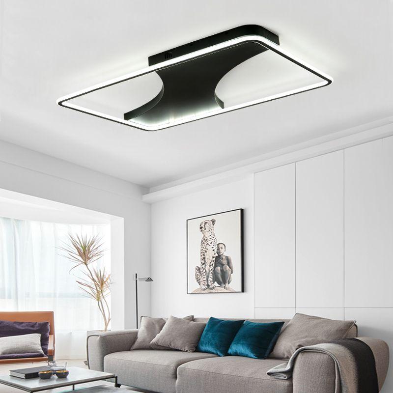 grosshandel moderne led kronleuchter licht fur wohnzimmer einfache atmosphare zuhause kreative personlichkeit neue rechteckige halle kronleuchter lampe von