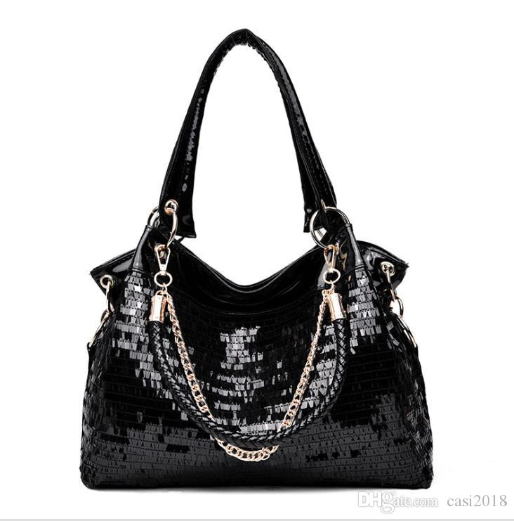 2018 New Style Black Color Hobos Handbag Crossbody Women Bag ... c5167062f40f2