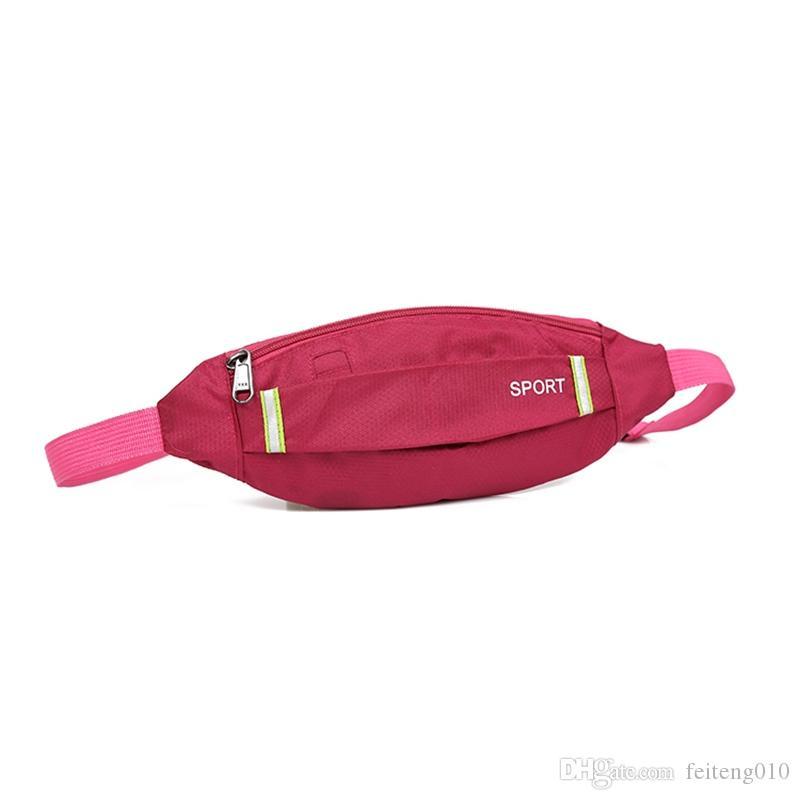 a279219c930 2019 Waterproof Waist Bag Men Women Oxford Cloth Money Mobile Phone Belt  Bags For Outdoor Sport Cycling Running Gym B2Cshop #614617 From Feiteng010,  ...