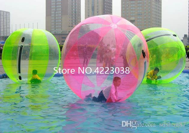 Inflatable Bouncers 2m Pvc Transparent Inflatable Water Ball Float Water Balloon Zorb Ball Plastic Human Hamster Inflatable Water Walking Ball Toys & Hobbies