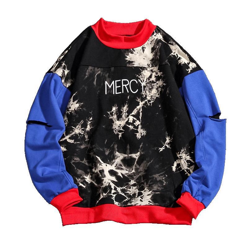 nuevo producto 7e61d e4751 2019 Hoodie Men Mercy Imprimir Sudadera Hip Hop Ropa Letra Impreso Hoodies  Sudadera Hombres Sherpa Hoodies