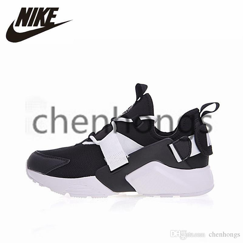 34afdbbd4535 2019 Original NIKE AIR HUARACHE CITY LOW Women Men Running Shoes  Lightweight Comfortable Sneakers Breathable Outdoor Sport Shoes  AH6804  Trainers Vegan ...