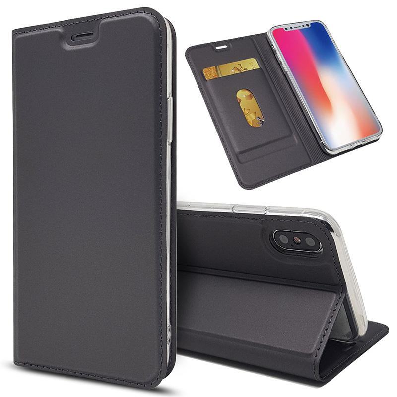 For Nokia Lumia Universal Luxury Leather Magnetic Wallet Stand Case Cover Cell Phone Accessories