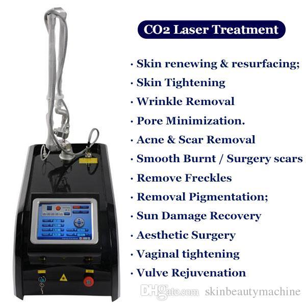 Meilleur prix erbium fraxel laser resurfaçage de la peau CO2 laser pour acné cicatrices fraxel laser graveur laser traitement au CO2