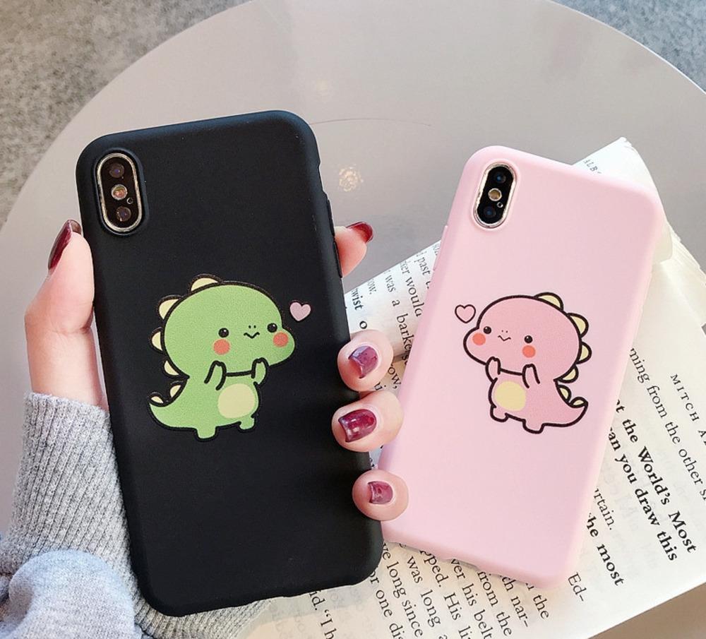 new arrival 0633f 2c746 Cute Silicone Slim Phone Cases For Samsung Galaxy J3 J5 J7 Eu Pro J2 J6  Prime Case Cartoon Dinosaur Cover