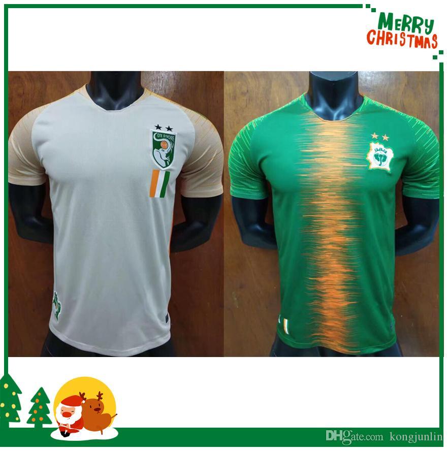 2018 2019 Camiseta De Fútbol Del Equipo Nacional De Fútbol De Costa De  Marfil Por Kongjunlin a94e7fa96