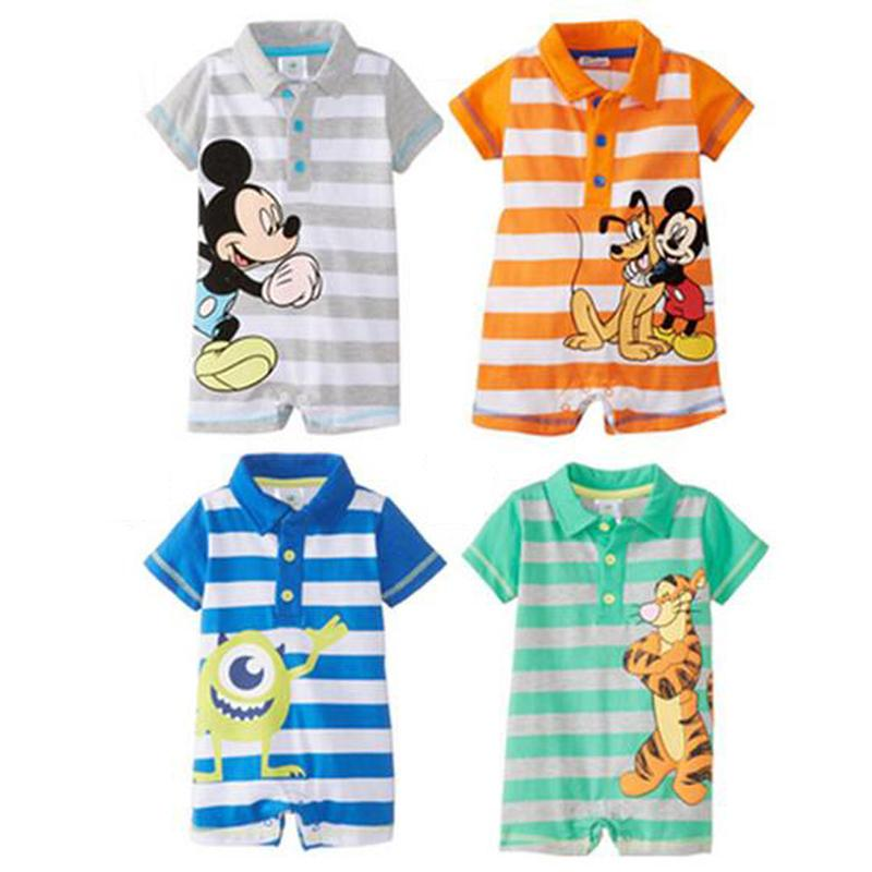 d16e2107cac7 2019 Clearance Sale Summer Baby Rompers Cartoon Baby Clothing Sets ...