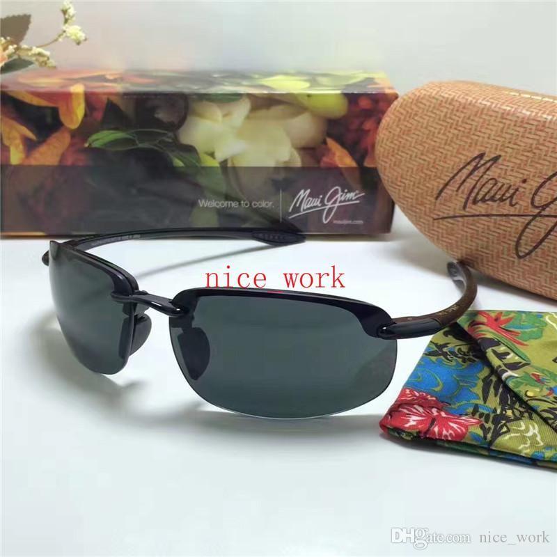 1fe33f15de35 Brand Designer-2017 Maui Jim Sunglasses 407 Hookipa MJ407 Sunglasses ...