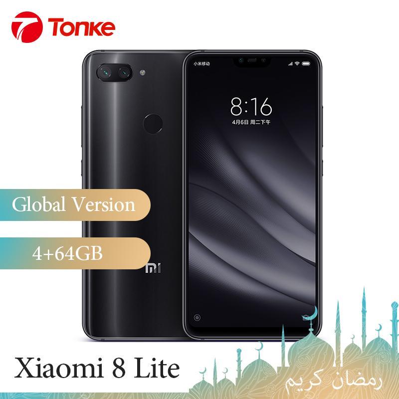 Global Version Xiaomi Mi 8 Mi8 Lite 4GB Ram 64GB Rom
