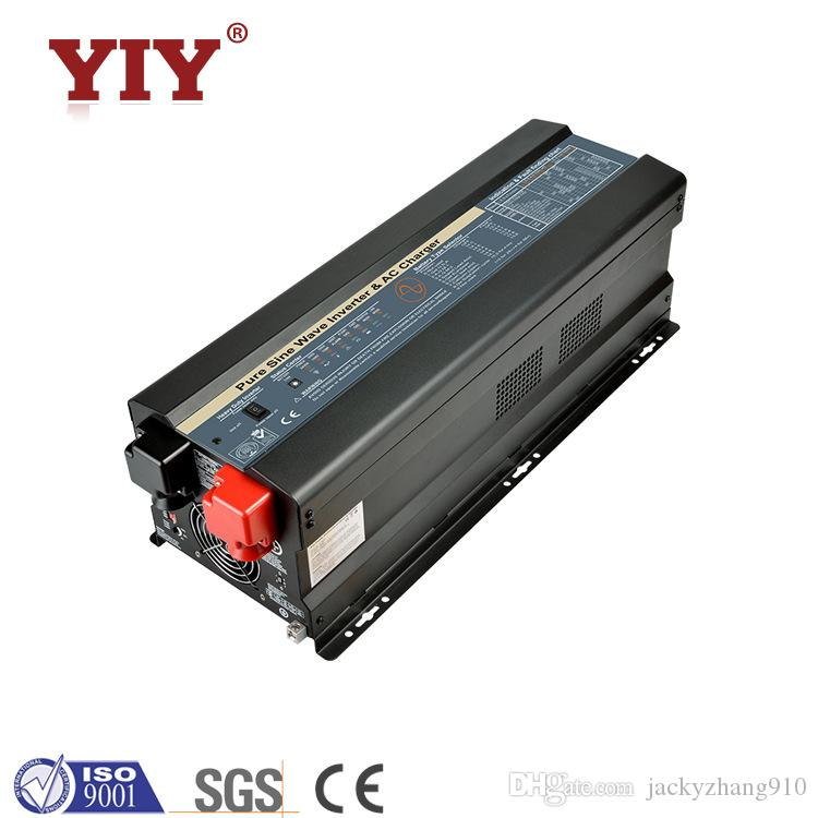 YIY APP SERIES 6KW PURE SINE WAVE INVERTER/CHARGER DC&AC EXCHANGE DC 12V  LOW IDLE HIGH OVERLOAD ABILITY UP TO 300% RATED POWER (20 SEC)