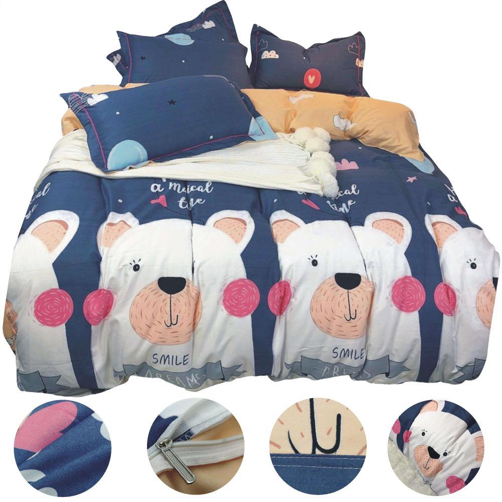 biancheria da letto per adulto copripiumino per bambini set biancheria per  la casa in tessuto set biancheria da letto di cotone per camera da letto ...