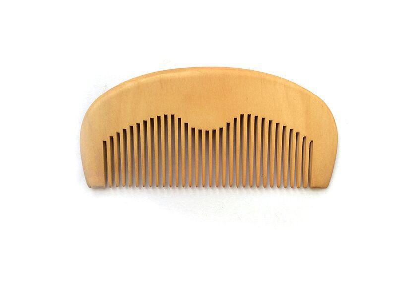 The Health Benefits Of Natural Peach Wooden Comb Beard Comb Pocket Comb 115551cm