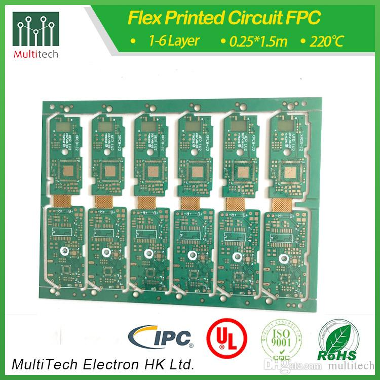 Rigid flexible PCB made in china multitech PCB manufacturer supply low  price good parts for electroics