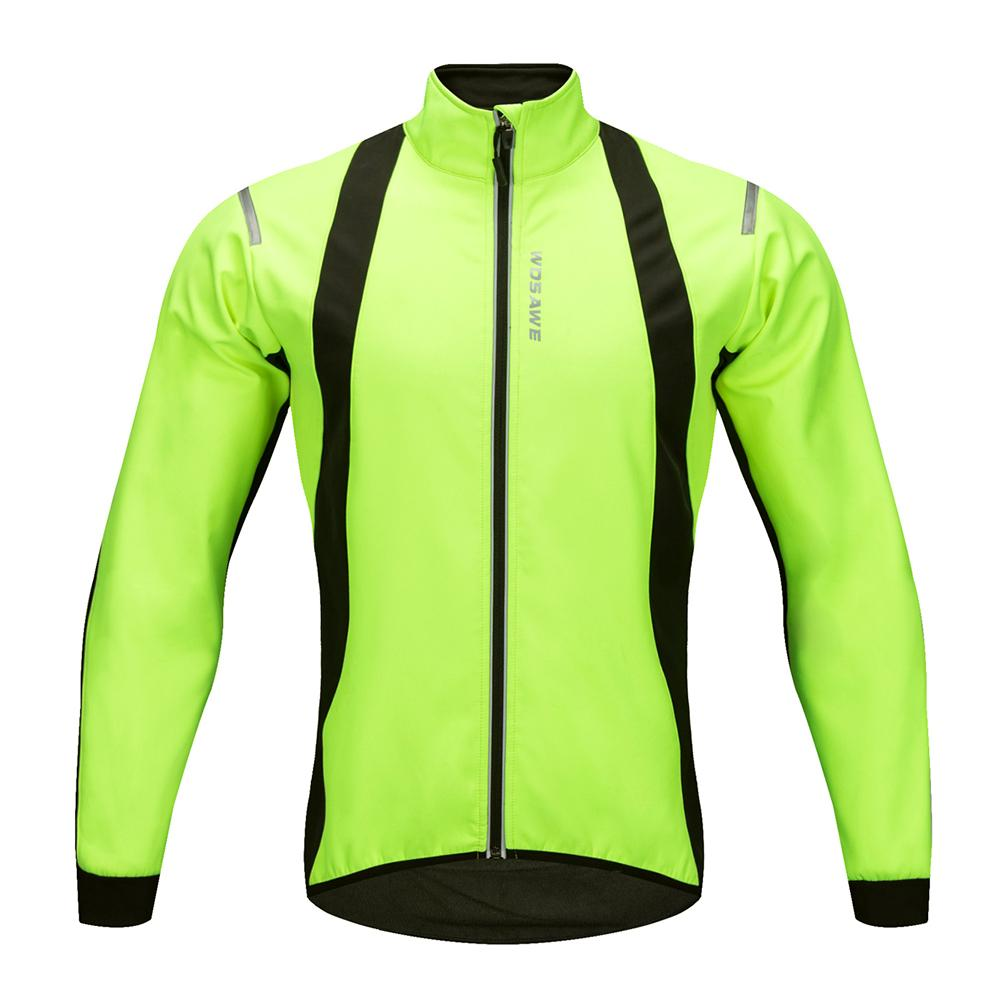 WOSAWE Men s Cycling Jackets Windproof Warm Fleece Winter MTB Bike Bicycle  Riding Jersey Outdoor Sport Coat Cycling Jackets Cheap Cycling Jackets  WOSAWE ... c79b787aa