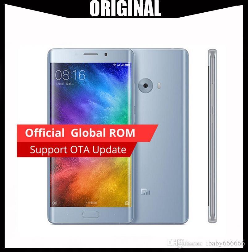 Wholesale Original Xiaomi Mi Note 2 64-Bit Quad Core 4G LTE Touch ID 22MP  Camera RAM 6GB ROM 128GB 5 7 inch Curved Screen Smartphone
