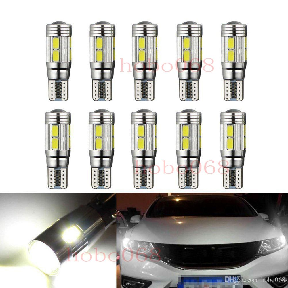 10x Led T10 W5w Canbus Error Free Car Cob Tail Side Lamp Backup Bulb Light White Online Shop Automobiles & Motorcycles