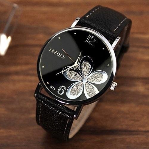 1bd412c2c27 Compre Yazole Quartzo Relógio Das Mulheres Relógios De Marca Famosa ...