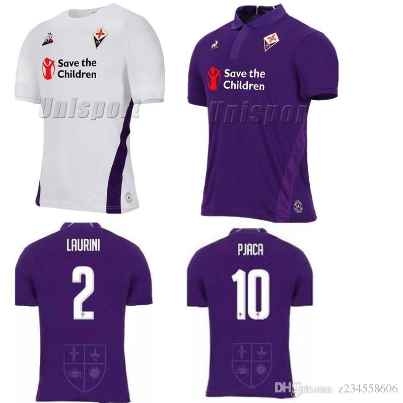 993adfdf7 2019 Camisetas De Fútbol De ACF Fiorentina 2018 19 Chiesa Simeone Gerson  Fútbol Camisa Camisetas De Fútbol Kit Maillot From Z234558606