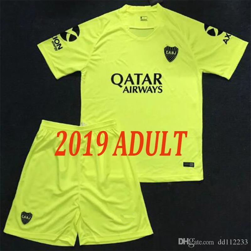 895dedf8671 2019 2018 2019 Adult Home Away Third Kits Boca Juniors Jersey Home Away 18  19 Boca Juniors GAGO OSVALDO CARLITOS PEREZ P Men Kit Football Shirt From  ...