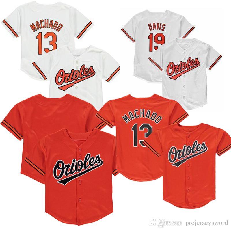4aaa05eba 2019 Baby Baltimore Cal Ripken Jr. Jr Jersey Adam Jones Chris Davis ...