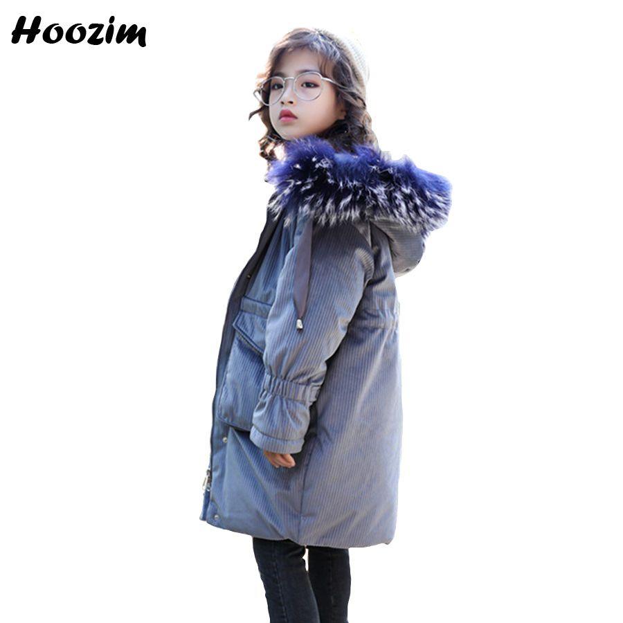67792add6 Winter Faux Fur Cap Parka Children European Long Jacket For Girls 10 ...