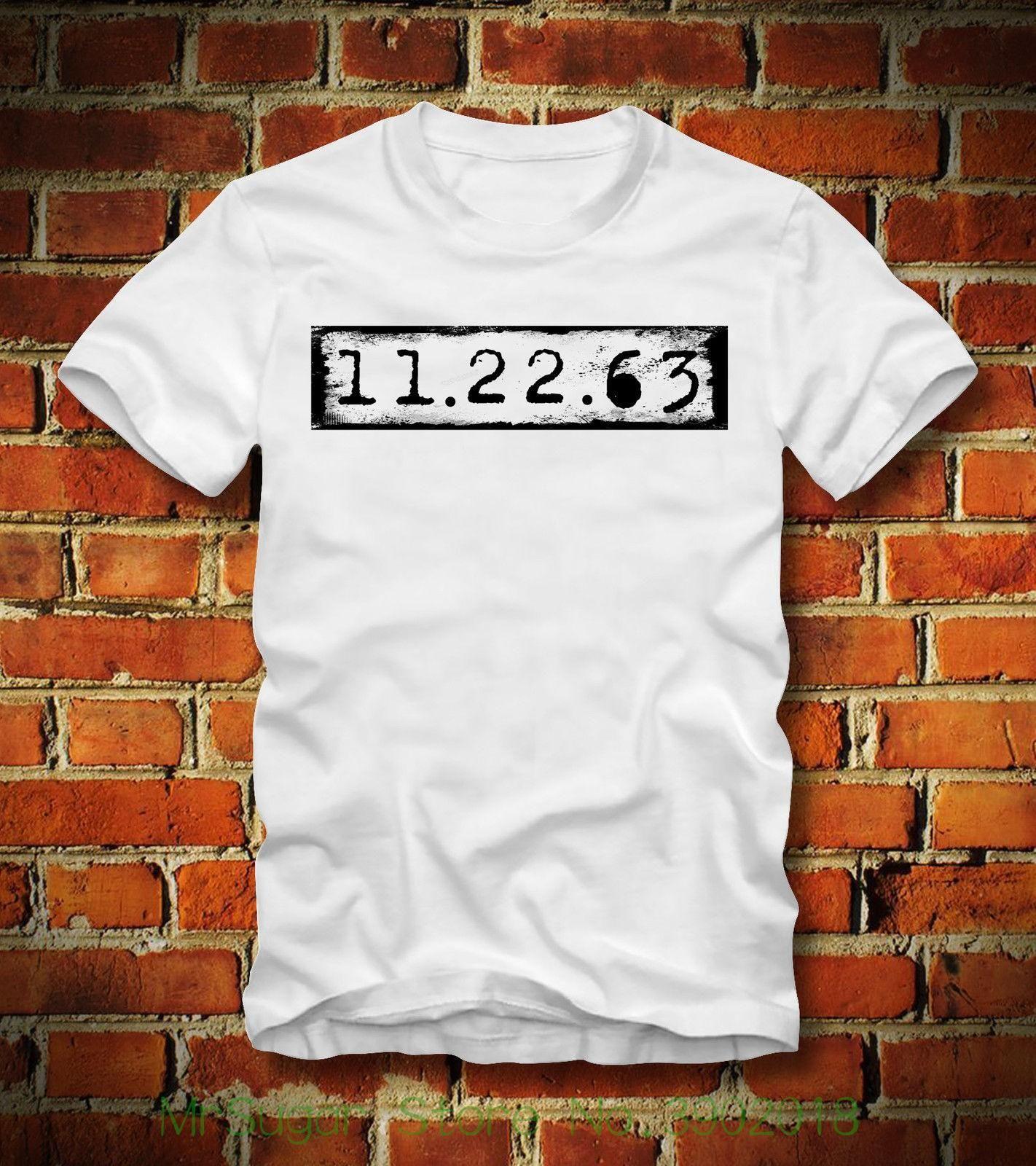 ff307607fce7 Boardrippaz T Shirt 11.22.63 Der Anschlag Stephen King Jfk John F Kennedy  Oswald Short Sleeve Summer Style Humorous T Shirts T Shirts Funny From  Jie030