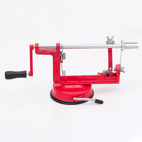 Stainless Steel 3 in 1 Apple Peeler Fruit Peeler Slicing Machine Apple Fruit Machine Peeled Tool Creative Home Kitchen Fruit Tools