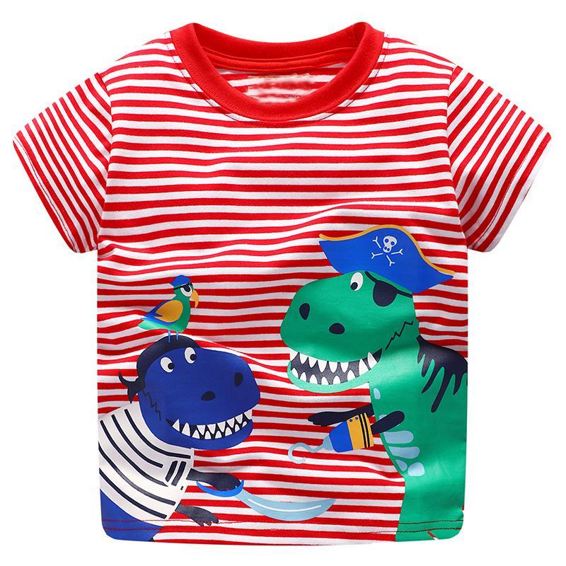 1072e2da6f64f Acheter Bébé Garçons Tops Enfants T Shirts 2019 Marque D'été T Shirts  Enfants Vêtements Garçons À Manches Courtes Tee Shirt Fille Coton Garçons  Vêtements De ...