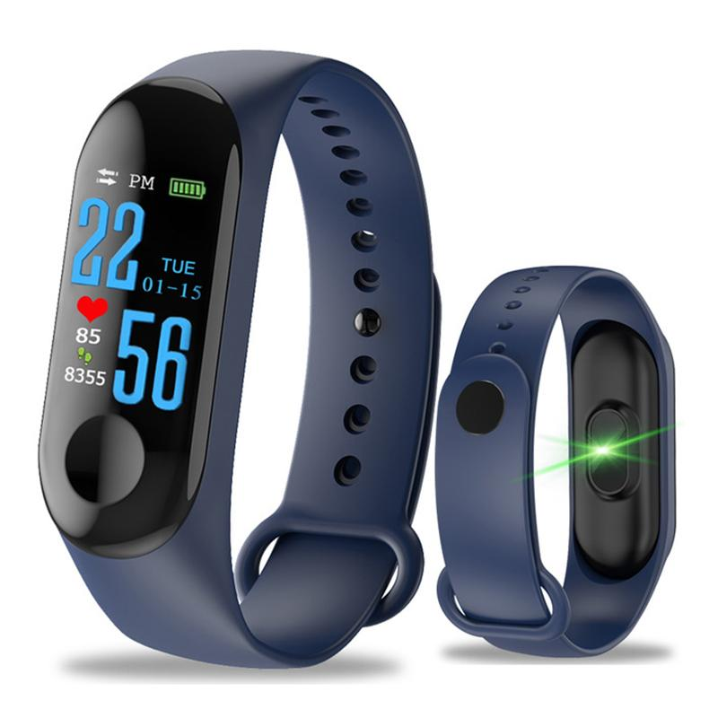 Pedometers Sports & Entertainment Fitness Pedometer Color Touch Screen Bluetooth Heart Rate Monitor Intelligent Pedomete Buy One Get One Free